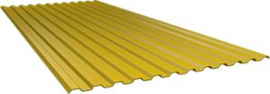 Профиль СС10 0,5 мм, Ral 1018
