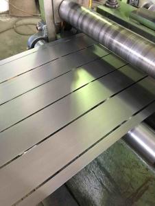 Роспуск металла на штрипсы