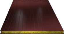 Сэндвич-панель стеновая (базальт) 80мм, Ral 3005