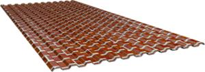 Профиль СС10 0,5 мм, Red brick