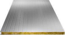 Сэндвич-панель стеновая (базальт) 80мм, Ral 9003