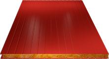СЭНДВИЧ-ПАНЕЛЬ СТЕНОВАЯ (БАЗАЛЬТ) 100ММ, RAL 3003