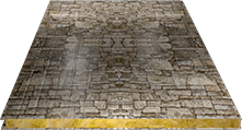 Сэндвич-панель стеновая (базальт) 100мм, Fine stone