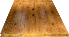 Сэндвич-панель стеновая (базальт) 100мм, Orange log