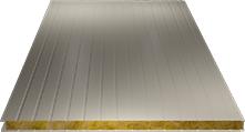 Сэндвич-панель стеновая (базальт) 120мм, Ral 1015