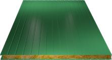 Сэндвич-панель стеновая (базальт) 120мм, Ral 6029