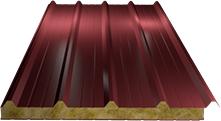 Сэндвич-панель кровельная (базальт) 80мм, Ral 3011
