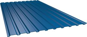 Профиль СОП10 0,45 мм, окрашенный наоборот