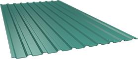 Профиль СОП10 0,5 мм, Ral 5021
