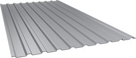 Профиль СОП10 0,5 мм, Ral 7004