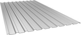 Профиль СОП10 0,5 мм, Ral 9002