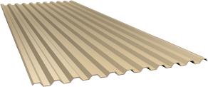 Профиль С21 0,5 мм, Ral 1014