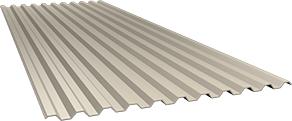 Профиль С21 0,5 мм, Ral 1015