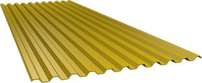 Профиль С21 0,5 мм, Ral 1018