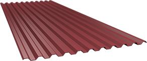 Профиль С21 0,5 мм, Ral 3011