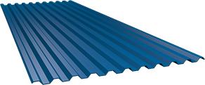 Профиль С21 0,5 мм, Ral 5005