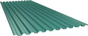 Профиль С21 0,5 мм, Ral 5021