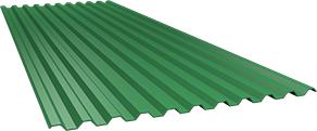 Профиль С21 0,5 мм, Ral 6029