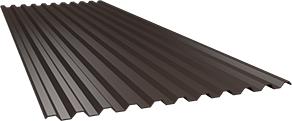 Профиль С21 0,5 мм, Ral 8017
