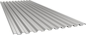 Профиль С21 0,5 мм, Ral 9002