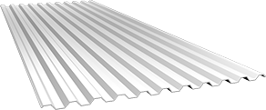 Профиль С21 0,5 мм, Ral 9003
