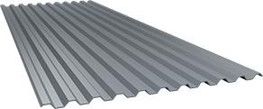 Профиль С21 0,55 мм, оцинкованный