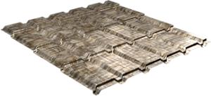 Металлочерепица Каскад 0,5 мм, Fine stone