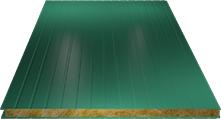 Сэндвич-панель стеновая (базальт) 60мм, Ral 6026