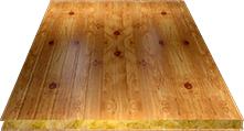 Сэндвич-панель стеновая (базальт) 60мм, Orange log