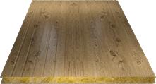 Сэндвич-панель стеновая (базальт) 130мм, Printech