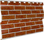 Металлосайдинг 0,5 мм, Red brick