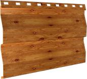 Металлосайдинг 0,5 мм, Orange log