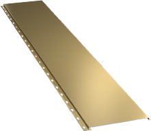 Гладкая широкая фасадная панель 0,5 мм, Ral 1014