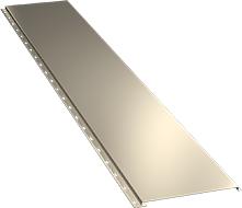 Гладкая широкая фасадная панель 0,5 мм, Ral 1015