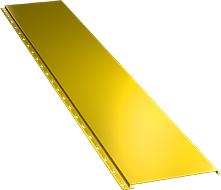 Гладкая широкая фасадная панель 0,5 мм, Ral 1018