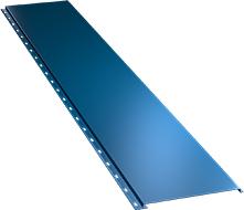 Гладкая широкая фасадная панель 0,5 мм, Ral 5005