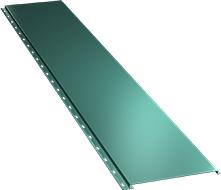 Гладкая широкая фасадная панель 0,5 мм, Ral 5021