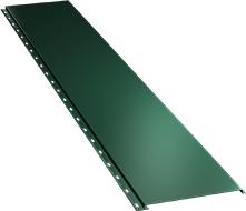 Гладкая широкая фасадная панель 0,5 мм, Ral 6005