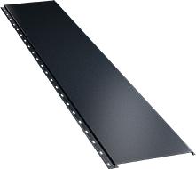Гладкая широкая фасадная панель 0,5 мм, Ral 7024