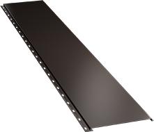 Гладкая широкая фасадная панель 0,5 мм, Ral 8017