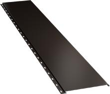 Гладкая широкая фасадная панель 0,5 мм, Ral 8019