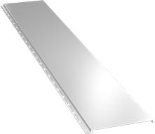 Гладкая широкая фасадная панель 0,5 мм, Ral 9003