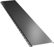 Гладкая широкая фасадная панель 0,5 мм, Ral 9006