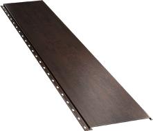 Гладкая широкая фасадная панель 0,5 мм, Corten