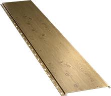 Гладкая широкая фасадная панель 0,5 мм, Log