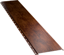 Гладкая широкая фасадная панель 0,5 мм, Naive