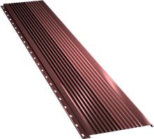 Широкая с крупной волной фасадная панель 0,5 мм, Ral 3009