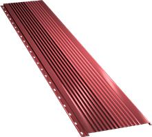 Широкая с крупной волной фасадная панель 0,5 мм, Ral 3011