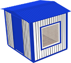 Вагон-бытовка 2х2х2,3м (Стандартный)