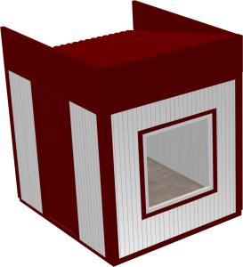 Вагон-бытовка 2х2х2,3м (Премиум)